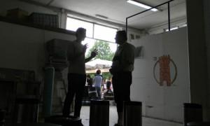 Andrea Lecchini e Andreas Gaenstaller al Birra del Borgo Day 2013