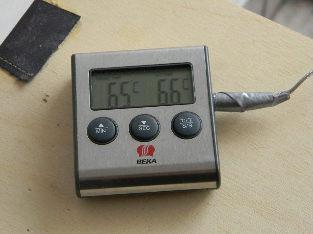 termometro digitale per birra