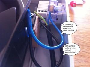 Potenziometro da collegare all'agitatore magnetico