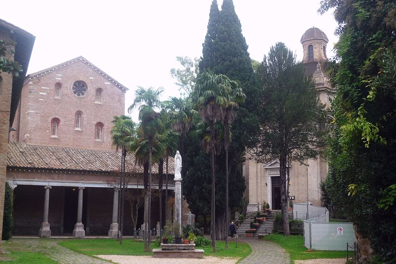 Abbazia trappista delle Tre Fontane a Roma