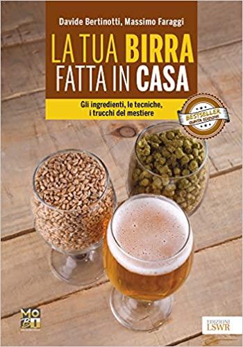 la tua birra fatta in casa, libro di Bertinotti